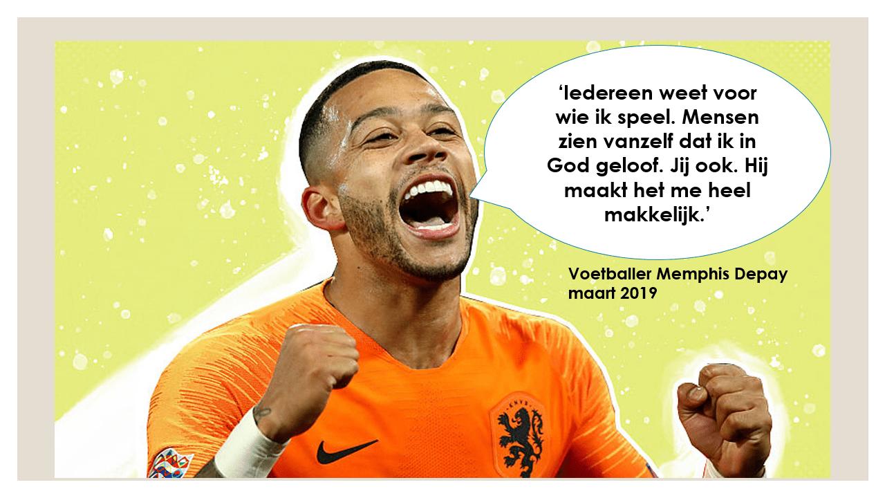 Foto: website beam.eo.nl maart 2019; citaat: De Volkskrant, 29 april 2018